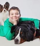 Vaikai turi mokytis bendrauti su šunimis