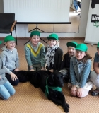 Edukaciniai užsiėmimai su šunimis vaikams labai reikalingi