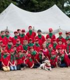 Jaunieji gelbėtojai stovyklauja ir mokosi