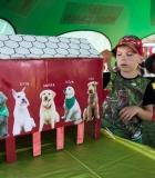 Vaikai susidraugavo su Skipiu ir Benu