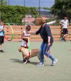 Jaunųjų krepšininkų stovykloje – edukaciniai užsiėmimai apie šunis