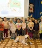 Baltosios Vokės lopšelio darželio vaikai susidraugavo su Gongu